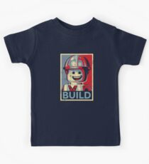 BAUEN Kinder T-Shirt