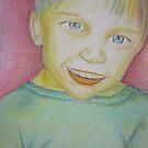 Kelton in pastel by Christopher Clark