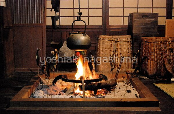Quot Irori Fireplace 2 Japan Quot By Yoshiaki Nagashima Redbubble