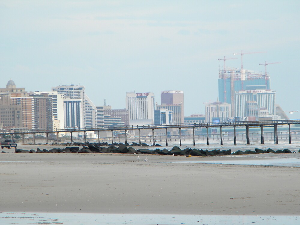 Atlantic City Landscape by mlaikens