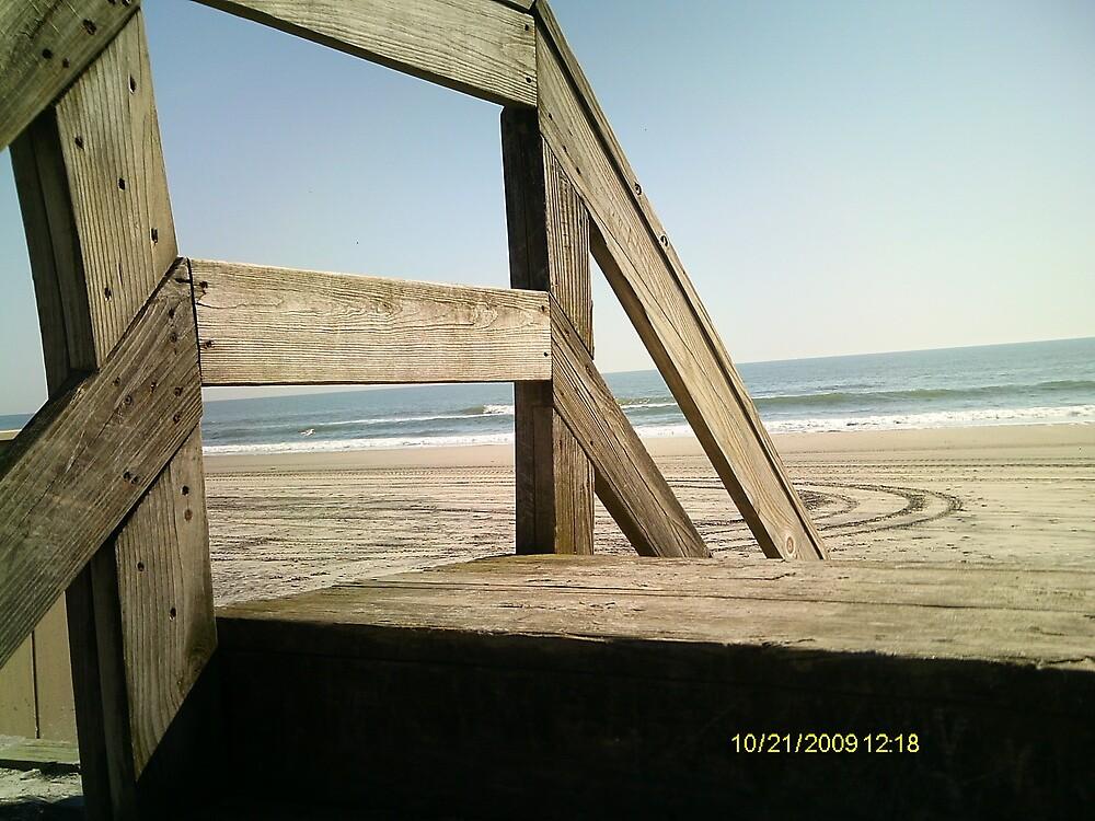 Beach steps by mlaikens