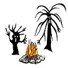 Camp fire by MiaMeaDesign