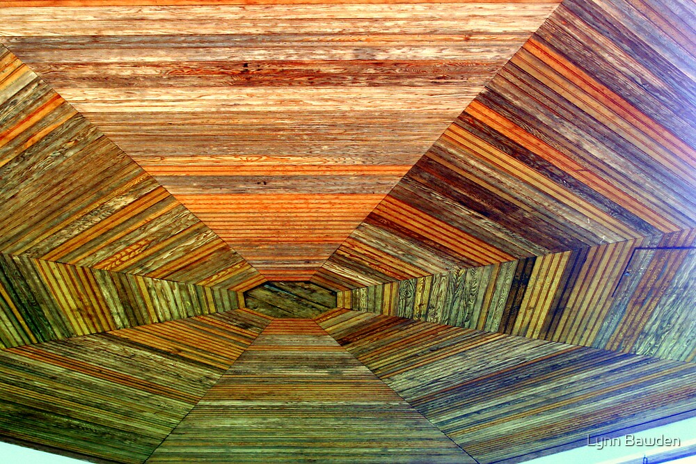 """Band Stand Ceiling"" by Lynn Bawden"
