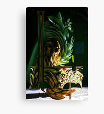 Funky Pineapple Canvas Print