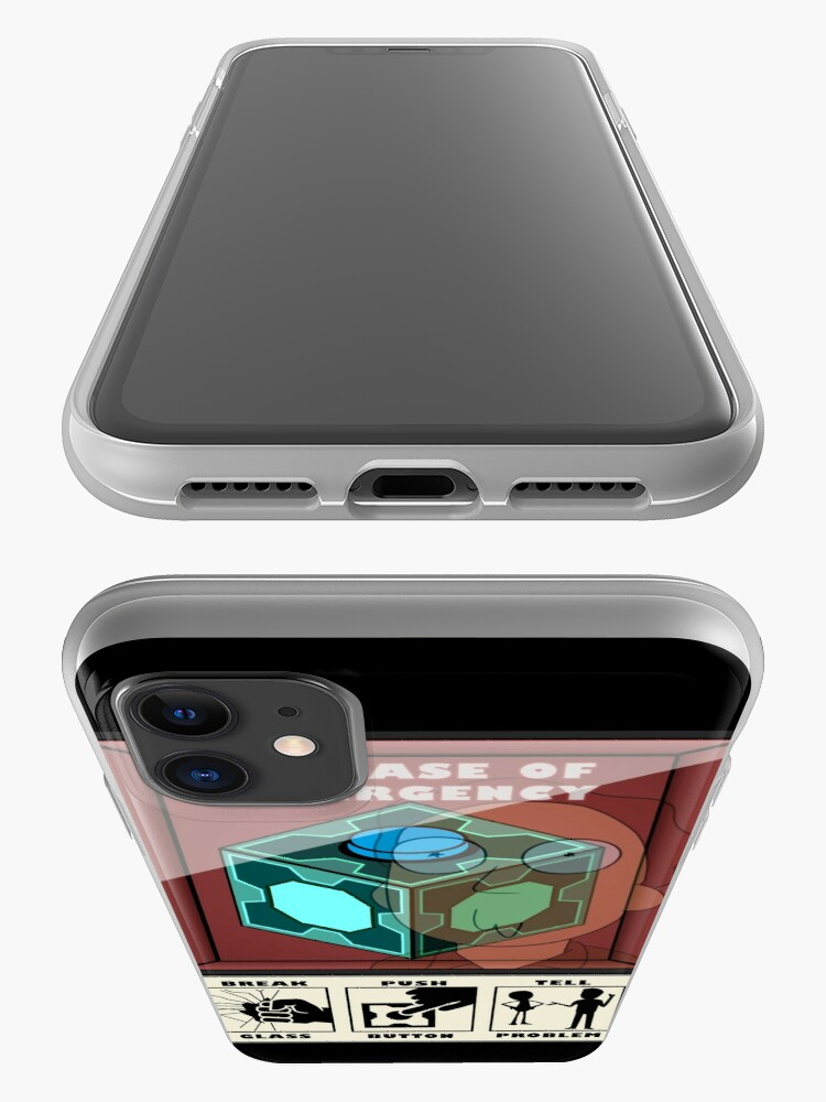 Alternate view of In case of emergency iPhone Case & Cover