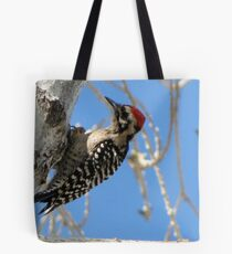 Ladder-backed Woodpecker ~ Male Tote Bag