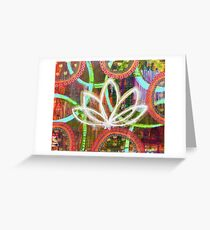 Honor the Ancient Wisdom: Inner Power Painting Greeting Card