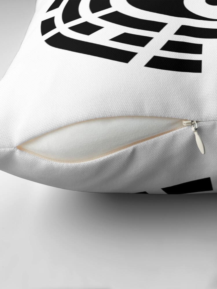 Alternate view of Yin Yang Trigram Third Culture Series Throw Pillow