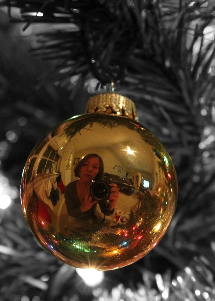 Christmas self portrait by piwaki