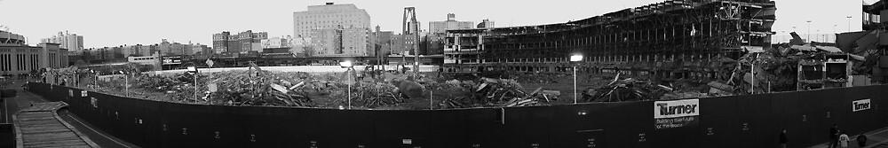 Old Yankee Stadium by joshuapomales