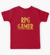 RPG Gamer Role Playing Gamer T Shirt Kids Tee