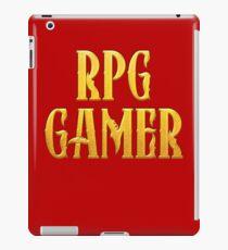 RPG Gamer Role Playing Gamer T Shirt iPad Case/Skin