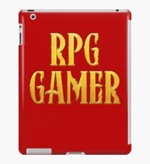 RPG Gamer Role Playing Gamer T Shirt iPad Case/Skin
