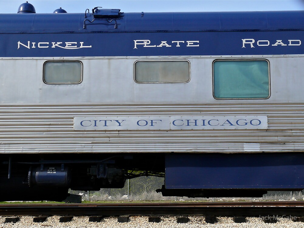 Retired NYC&StL - Nickel Plate Road - Pullman Sleeper Coach by Jack McCabe