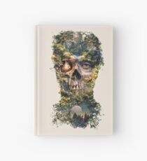 Cuaderno de tapa dura The Gatekeeper Dark Surrealism Art