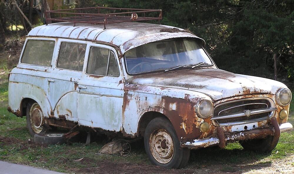 old car by karencoy