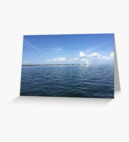 Perfect Florida Day Greeting Card