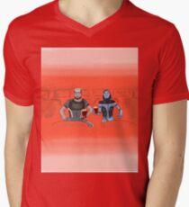 Movie-night Men's V-Neck T-Shirt
