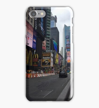 Walking Through the Heart of American Culture iPhone Case/Skin