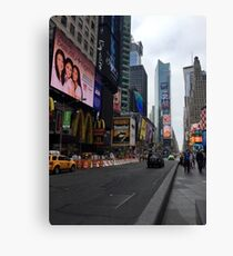 Walking Through the Heart of American Culture Canvas Print