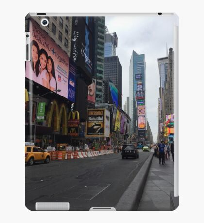 Walking Through the Heart of American Culture iPad Case/Skin