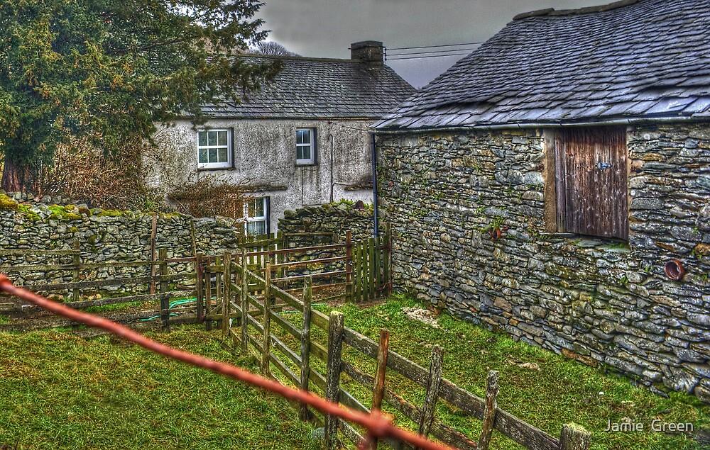 High Ickenthwaite..Behind The Barn by Jamie  Green