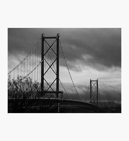 The Forth Road Bridge. Photographic Print