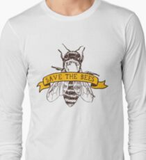 Save The Bees! Long Sleeve T-Shirt