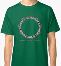 OmniGate (What's Your Address? version) Classic T-Shirt