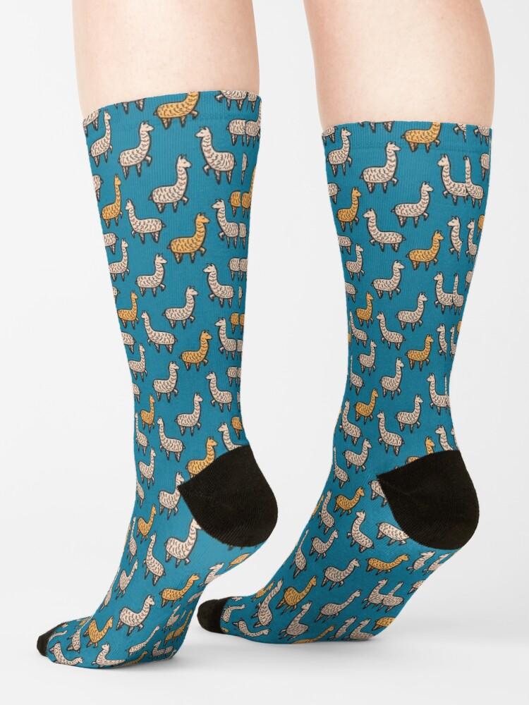 Alternate view of Me Llamo Llama Socks