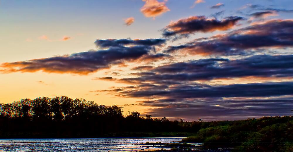 Early Sunset by Gary Smith