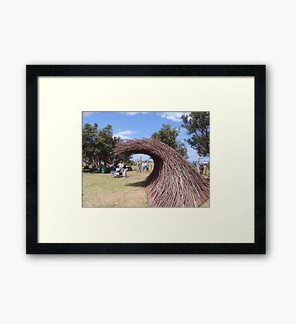 Sculpture by the Sea Exhibition 3 Framed Print