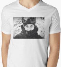 McMorris T-Shirt mit V-Ausschnitt