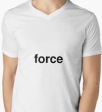 force Men's V-Neck T-Shirt