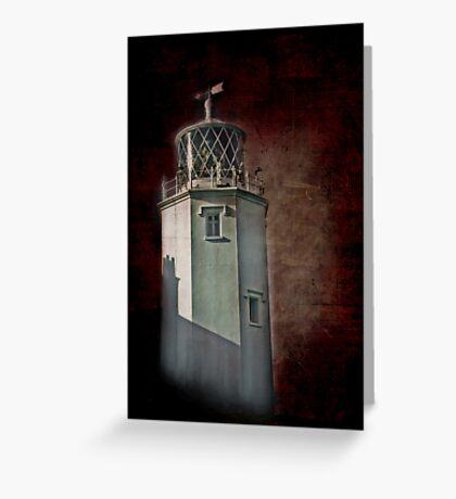 Lizard Lighthouse Greeting Card