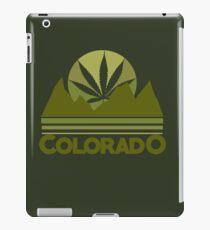 Colorado Marijuana humor iPad Case/Skin