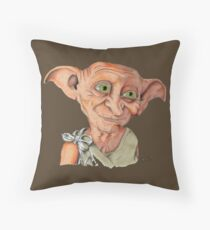 THE GREATEST ELF FROM HP! Throw Pillow