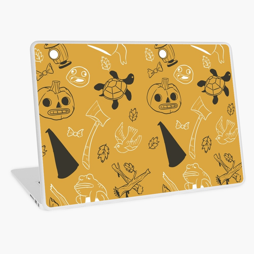 Over the Garden Wall Pattern Laptop Skin