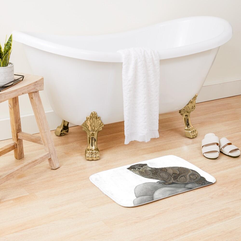 Otter Tangle Bath Mat