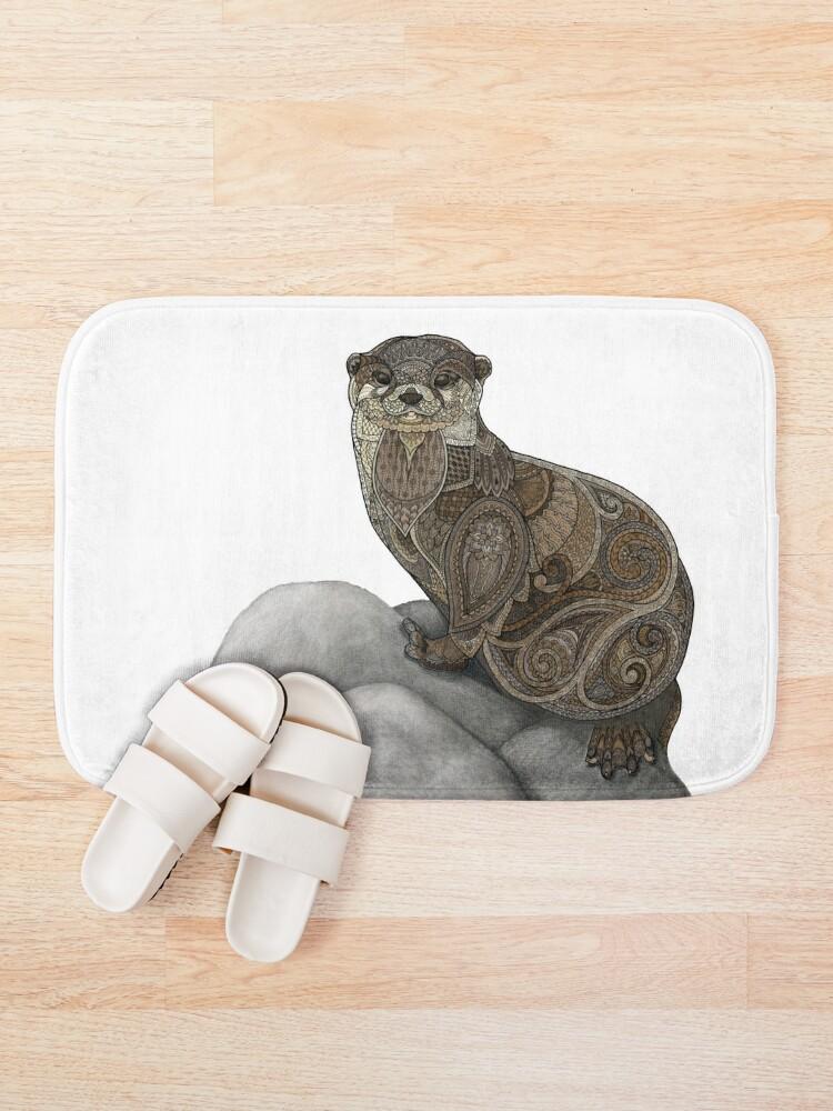 Alternate view of Otter Tangle Bath Mat
