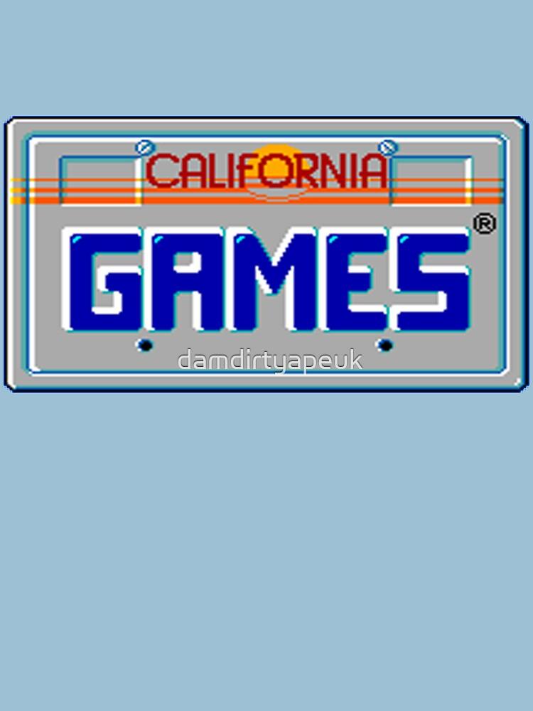 California Games by damdirtyapeuk