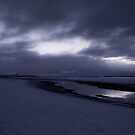 Snowy Beach by Stephen Peters