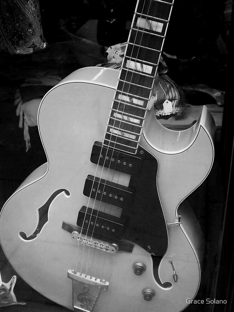 Beautiful Guitar III by Graciela Maria Solano