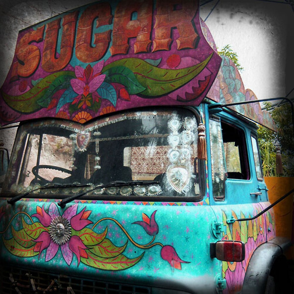 Sugar truck by sue mochrie