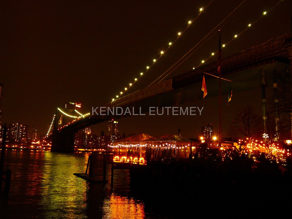 RIVER CAFE'S FESTIVAL OF LIGHTS by KENDALL EUTEMEY