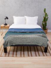Virgin Islands Resort Beach Throw Blanket