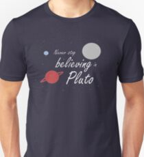 Believe in Pluto Unisex T-Shirt