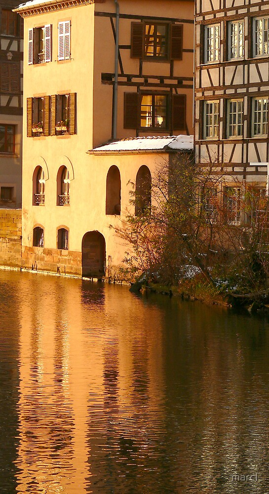 Strassburg old town, France by Marc-Pierre Lubas