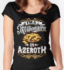 Millionaire in Azeroth Women's Fitted Scoop T-Shirt