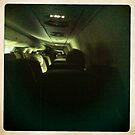 On The Airplane to Karlsruhe-Germany 2 by Fahar